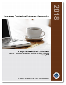 NJ ELEC Compliance Manual for Candidates 2018